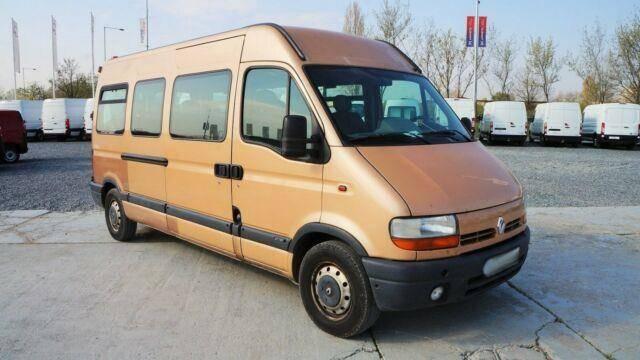 Renault Master 2.5DCI/84kw BUS 16 sitze /AHK - 2002