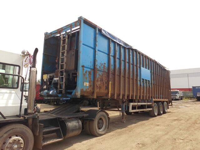 Sale b m i ejector tipper semi-trailer for  by auction - 2019