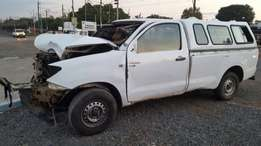 Toyota hilix 2.5 D4D stripping for for spares