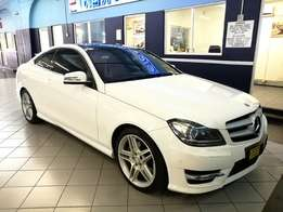 2013 Mercedes-Benz C Class C350 BE Coupe A/T