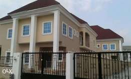 A 5 (2 Units) bedroom fully detached duplexes with a BQ