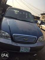 Kia carnival 2004, bought new and used for some months
