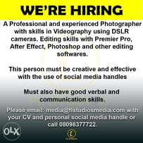Video Editor Needed Urgently