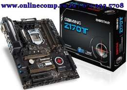 Biostar GAMINGZ170T LGA 1151 Motherboard supports 6th Generation Core