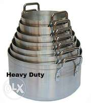 Heavy duty 7 pc Sufurias plus lids