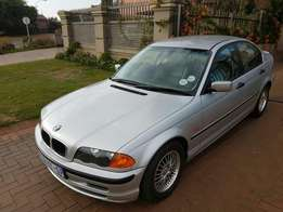 Call Haroon on 1999 BMW 318i E46 with DVD entertainment