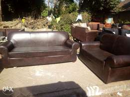 Six seater quality leather