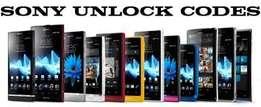 Sony Erickson and X-peria Factory unlock codes