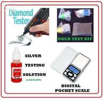 Gold and Silver and Diamond Tester and Valuation Kit