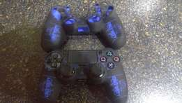 PS4 Black Protective Silicone Covers