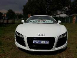 2010 Audi R8 5.2i V8 with 52000km,excellent condition & full service