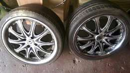 "Narrow and wide rims 17"" 4x100 pcd"