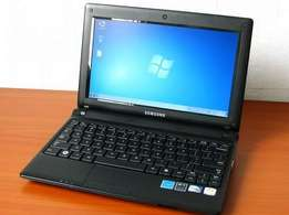 A Samsung Notebook Mini Laptop