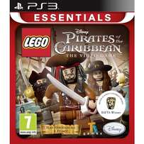 PS3 Game : LEGO PIRATES OF THE CARIBBEAN (never opened or used)