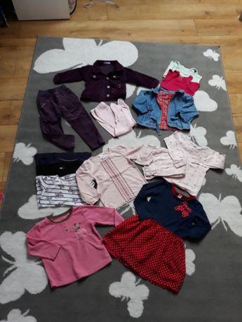 1675abcdcd2637 86/92 ubrania zestaw dziewczynka kurtka Kielce - image 1
