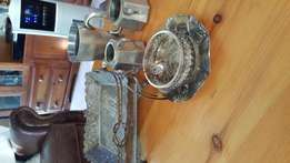 Antique silverware in good condition