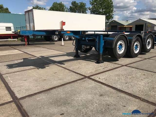 Burg 20 ft ADR containerchassis- 2x liftas BPO 12-27 CCXAX - 2005 - image 4