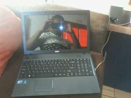 Acer Travelmate core i3 laptop with a strong battery has webcam