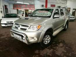 2006 Toyota Hilux 3.0 D4D D/C Raider, Only 249000Km's, FSH, Aircon