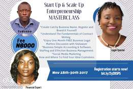 Start Up & Scale Up, Entrepreneurship Masterclass for Event Profession