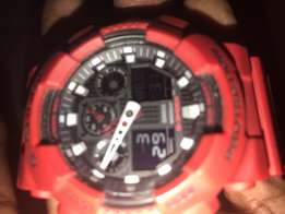 red Casio for sale