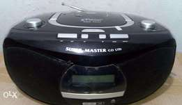 DVD Player + Boombox + Radio FM Player + MP3/MP4 Player + USB + SDCard
