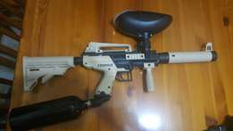 Cronus paintball gun with extras