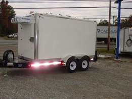 8 -12 Inch LightWeight Refrigerated Pull-Behind Trailer
