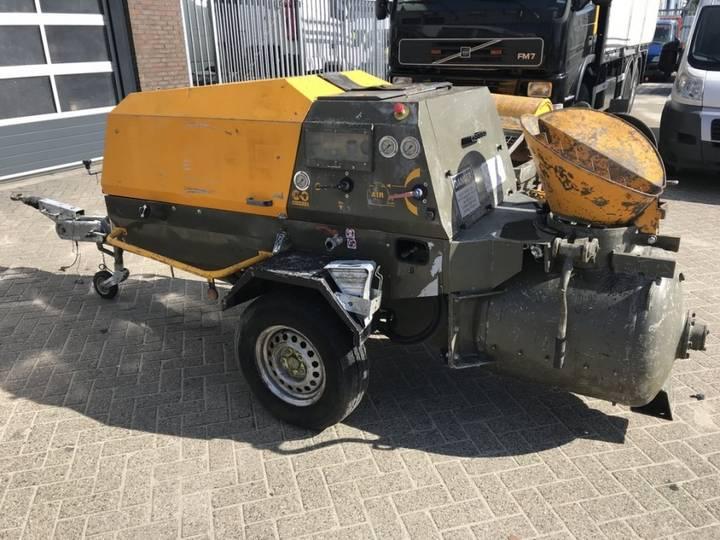 Turbosol Fm 27.45 Dc/t Betonmixer Mobiel 4 Cyl Perkins - 2012