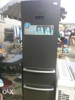 Clean HAIER THERMOCOOL 400lits refrigerator with double drawer freezer