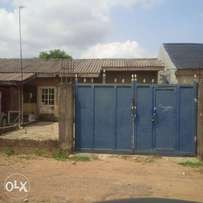 gated 1 bedroom bungalow (fha design) in phase 2, kubwa for sale