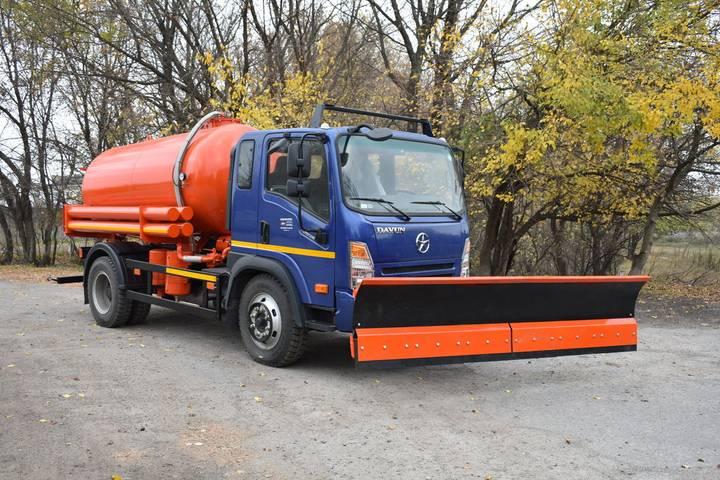 New AT VO-0702 na shassi DAYUN CGC1120 vacuum truck - 2019