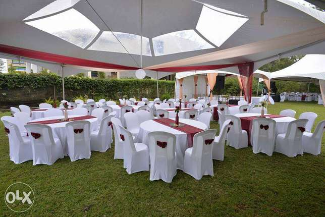 Dome tents,Hexagons,stretch tents,Chiavaris, foldable seats for Hiring Utalii - image 6