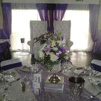Wedding decor and stretch tents