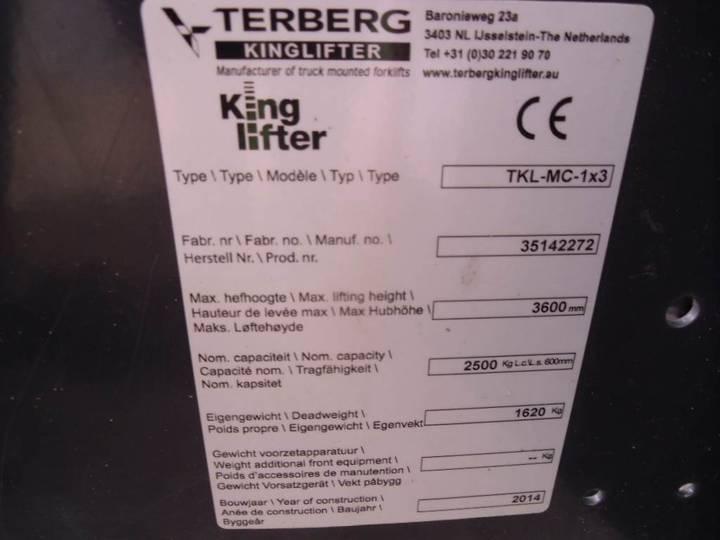 Linde Terberg King Lifter Forklift - 2014 - image 6