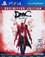 PS4 Devil may Cry definitive edition with DLC