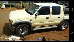 Toyota Hilux D Cab Local. A powerful machine on road.Engine 3L diesed.