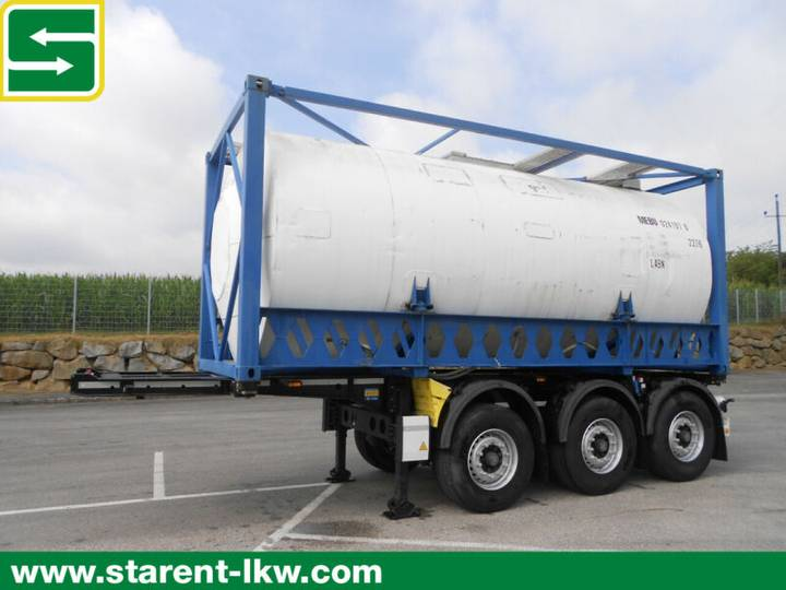 Krone Containerchassis, 24.000 Liter Tank, 20 Fuß, BPW - 2014