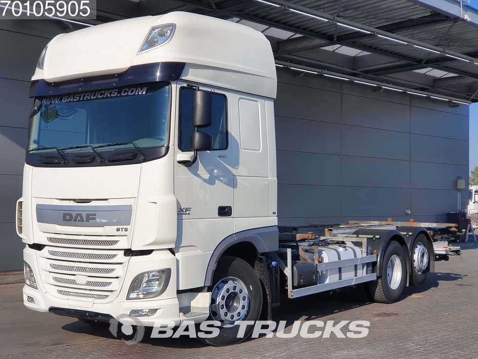 DAF XF 460 SSC 6X2 Intarder Liftachse Ladebordwand Euro 6 - 2015