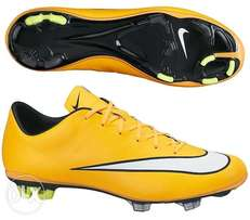 Quality soccer boots real leather for sale