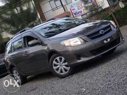 Toyota Fielder brown colour 2010 model excellent condition