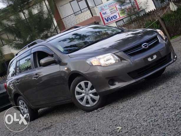 Toyota Fielder brown colour 2010 model excellent condition Kilimani - image 1