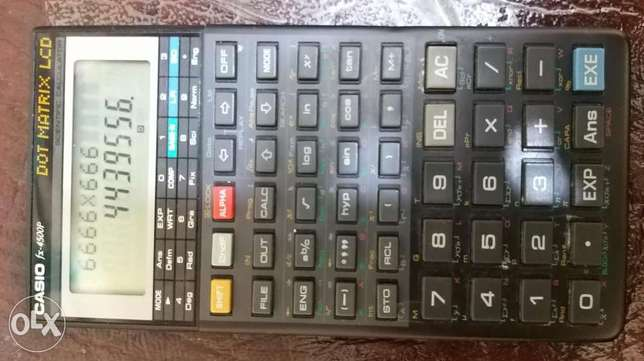 Casio Fx4500P programable calculator