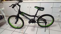 Brandnew bicycle for a child
