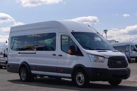 Ford Transit Bus, Buss M2 -9+1 Seter/ 1 Rullestol, Euro - 2016