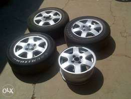 "14"" citi golf mags and tyres"