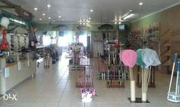 Fishing tackle shop for sale