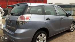 Super Clean 2005 Tokunbo Toyota Matrix Sky Blue