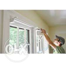 Installation h9me service curtains and tv stands etc