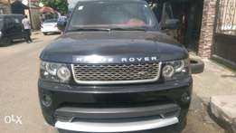 Registered 2012 Range Rover autobiography sport for sale